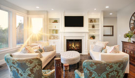 Luxurious living room Royalty Free Stock Images