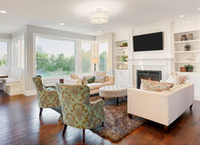 Luxurious living room Stock Photography