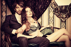 Luxurious love Stock Images