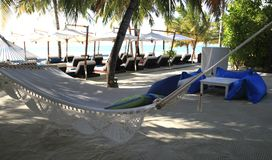 Hammock for dream vacations Royalty Free Stock Photo