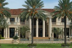 Free Luxurious Mansion Royalty Free Stock Image - 419656