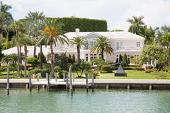 Luxurious mansion in Miami Royalty Free Stock Photo