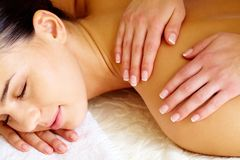 Luxurious massage Stock Photography