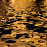 Luxurious metallic gold fabric Stock Photo