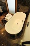 Luxurious modern bathroom stock images