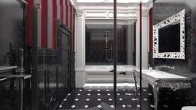 Luxurious modern bathroom Royalty Free Stock Photos