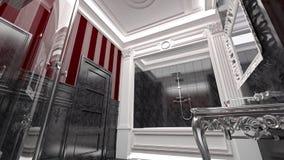 Luxurious modern bathroom Stock Image