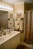 Luxurious modern bathroom Royalty Free Stock Photo