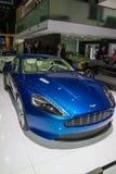 Luxurious modern blue car Stock Photo