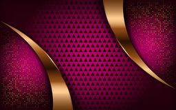 Luxurious modern bright pink background stock illustration