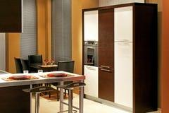 Luxurious modern kitchen Royalty Free Stock Image