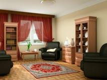 Luxurious modern living room Stock Photos