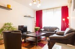 Luxurious modern living room Stock Photo