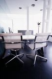 Luxurious modern office. Partial view of a modern office Royalty Free Stock Photo
