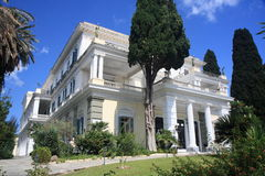 Luxurious palace/villa stock photo