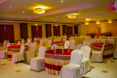 Luxurious party hall Stock Photos