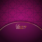 Luxurious pattern background Stock Photo