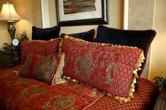 Luxurious pillows Stock Photo