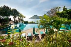 Luxurious pool Stock Photo