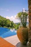 Luxurious Pool Royalty Free Stock Image