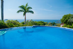 Luxurious pool Stock Images