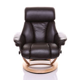 Luxurious recliner chair, front on. Stock Photo