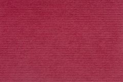 Luxurious red background, handmade paper with stripe. Stock Image