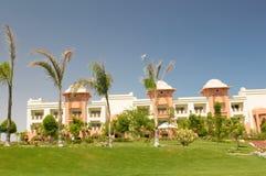 Luxurious resort building stock photos