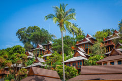 A luxurious resort in Phi Phi Island, a tropical Thailand island Stock Images