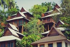 A luxurious resort in Phi Phi Island, a tropical Thailand island Stock Photos