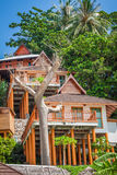 A luxurious resort in Phi Phi Island, a tropical Thailand island Royalty Free Stock Photo