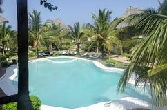 Luxurious resort in Zanzibar Stock Image