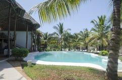 Luxurious resort in Zanzibar Stock Photography