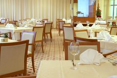 Luxurious restaurant Stock Photos