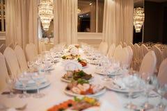 Luxurious restaurant Stock Image