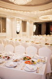 Luxurious restaurant Royalty Free Stock Photography