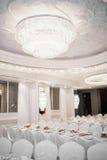 Luxurious restaurant Stock Images