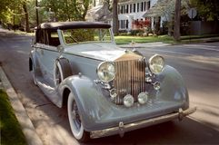 Luxurious Rolls Royce Stock Image