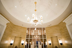 Luxurious room and ceiling Royalty Free Stock Photo