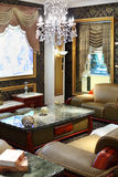 Luxurious room in classic style Royalty Free Stock Images