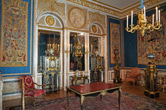 Luxurious Room in Louvre Museum Royalty Free Stock Image