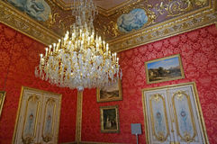 Luxurious Room at the Napoleon III Apartments. Photo of luxurious room at the napoleon III apartments in the louvre museum in paris france royalty free stock photos