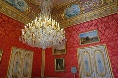 Luxurious Room at the Napoleon III Apartments Royalty Free Stock Photos