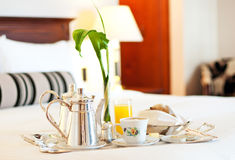 Luxurious room service Stock Photo