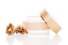 Luxurious royal jelly cosmetics. Stock Photo