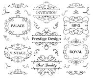 Luxurious Royal Logo Vector Design Template Suitable For Businesses Royalty Free Stock Photography