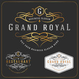 Luxurious Royal Logo Vector Stock Photos