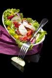 Luxurious salad. stock photography