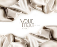 Free Luxurious Satin Fabric On White Stock Images - 12548394