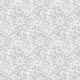 Luxurious seamless floral wallpaper Stock Photo